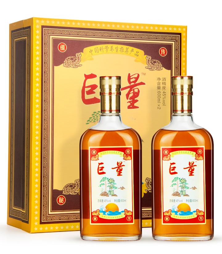 45°巨量神酒礼盒装600ml*2 瓶