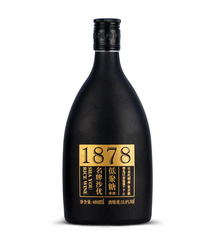 沙洲优黄黑标1878 480ml 瓶