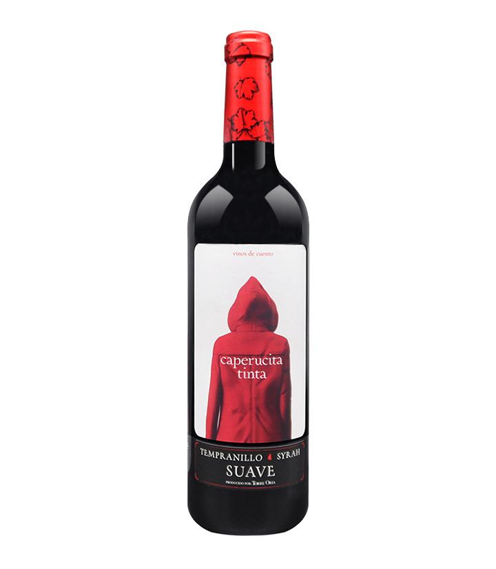 12.5°西班牙小红帽干红葡萄酒750ml 瓶