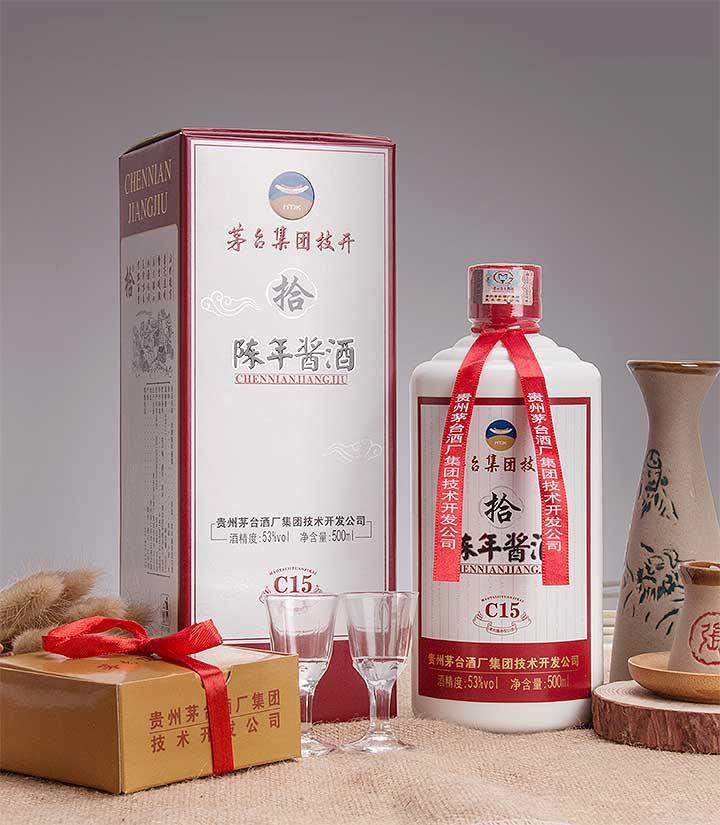 53°茅台技开陈年酱酒C15 500ml 瓶