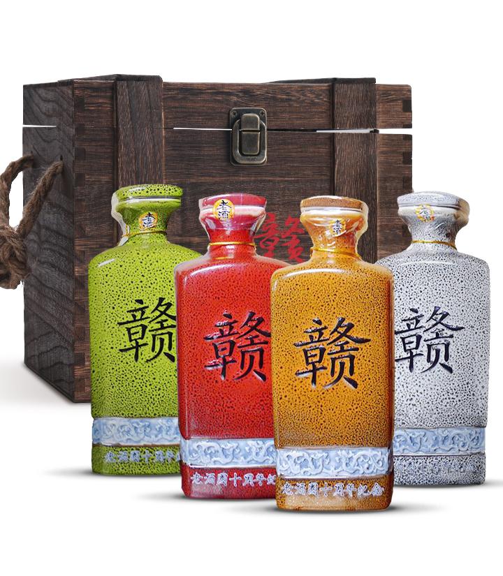 52°赣酒春夏秋冬(礼盒)500ml*4 瓶