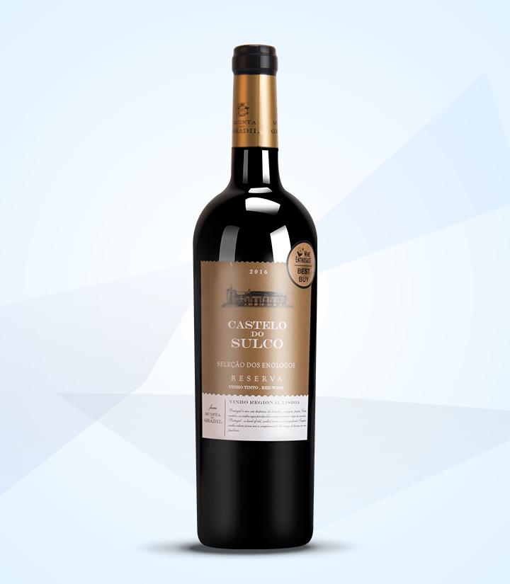 13.5°葡萄牙索克城堡精选珍藏干红葡萄酒750ml 瓶