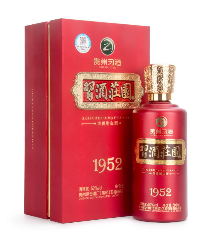 52°贵州习酒习酒庄园1952 500ml 件